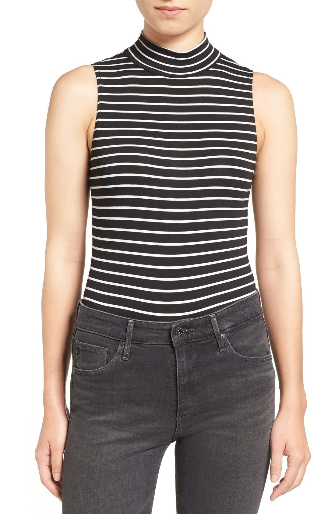 PAIGE Mackenna Stripe Bodysuit
