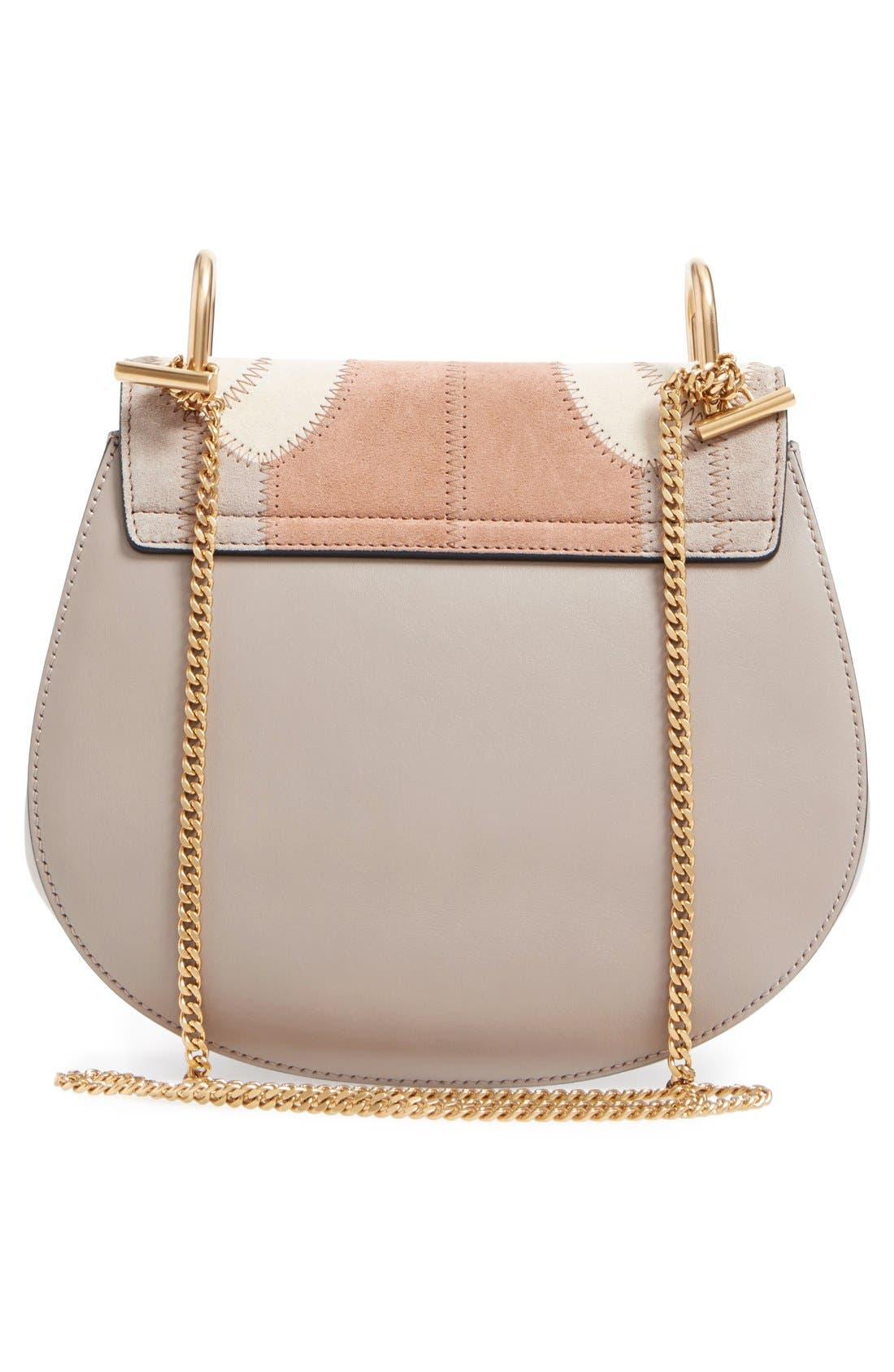 Alternate Image 3  - Chloé 'Small Drew' Patchwork Suede Shoulder Bag