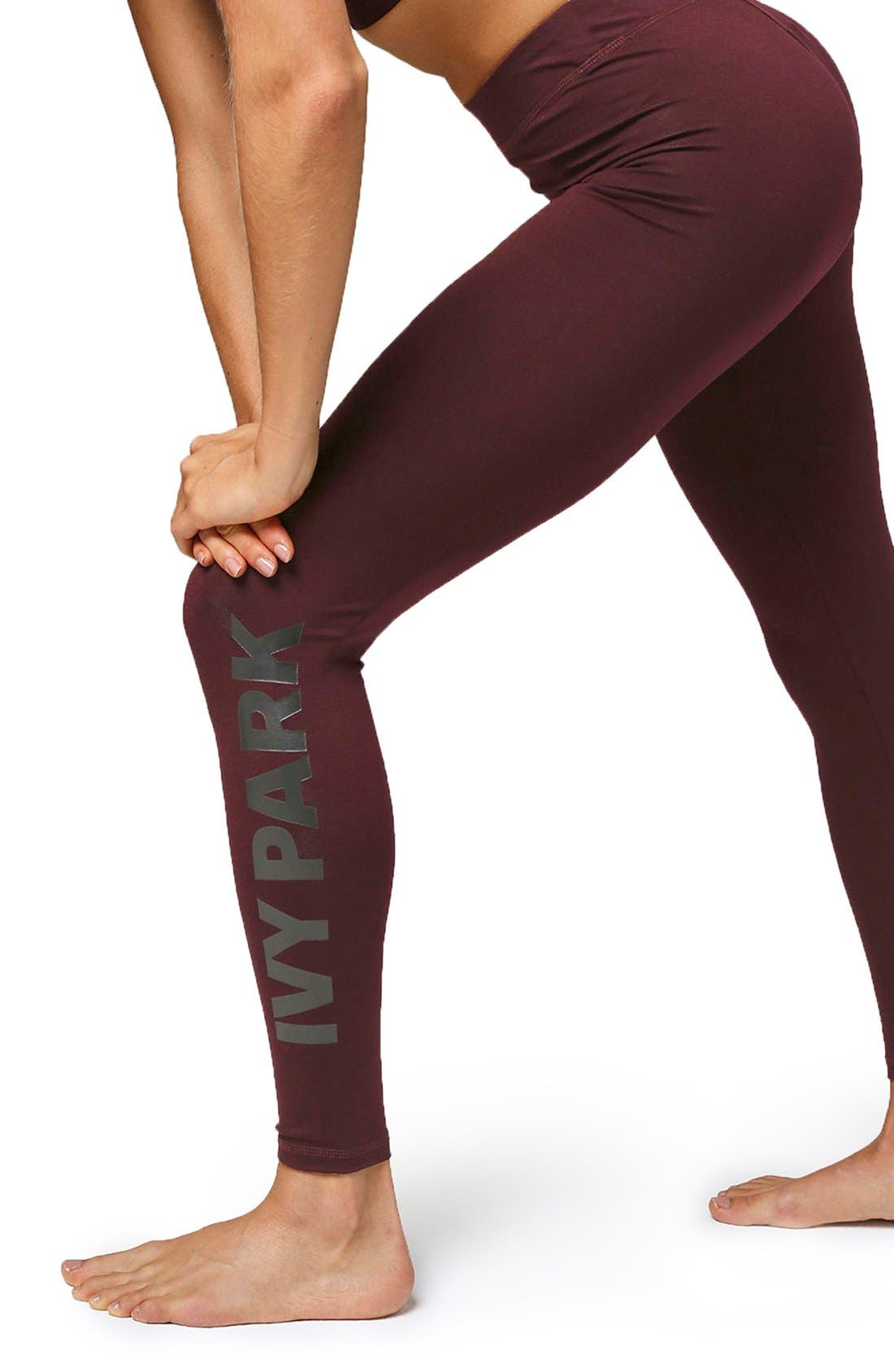Alternate Image 4  - IVY PARK® Logo Leggings