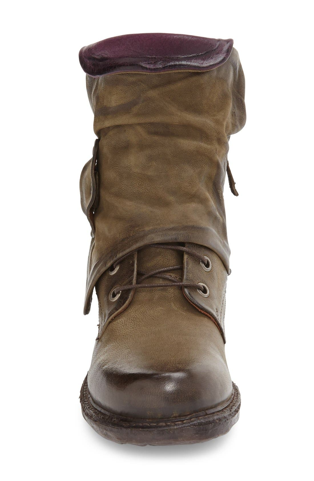 Alternate Image 3  - A.S.98 Simon Slouchy Combat Boot (Women)