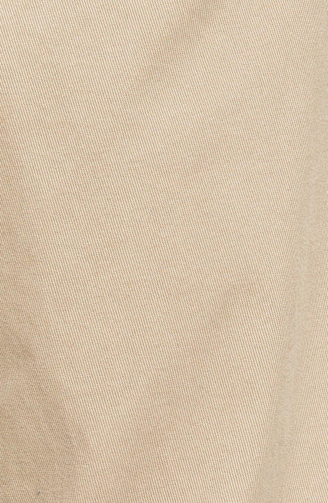 Soho Slim Fit Five-Pocket Pants,                             Alternate thumbnail 5, color,                             Khaki