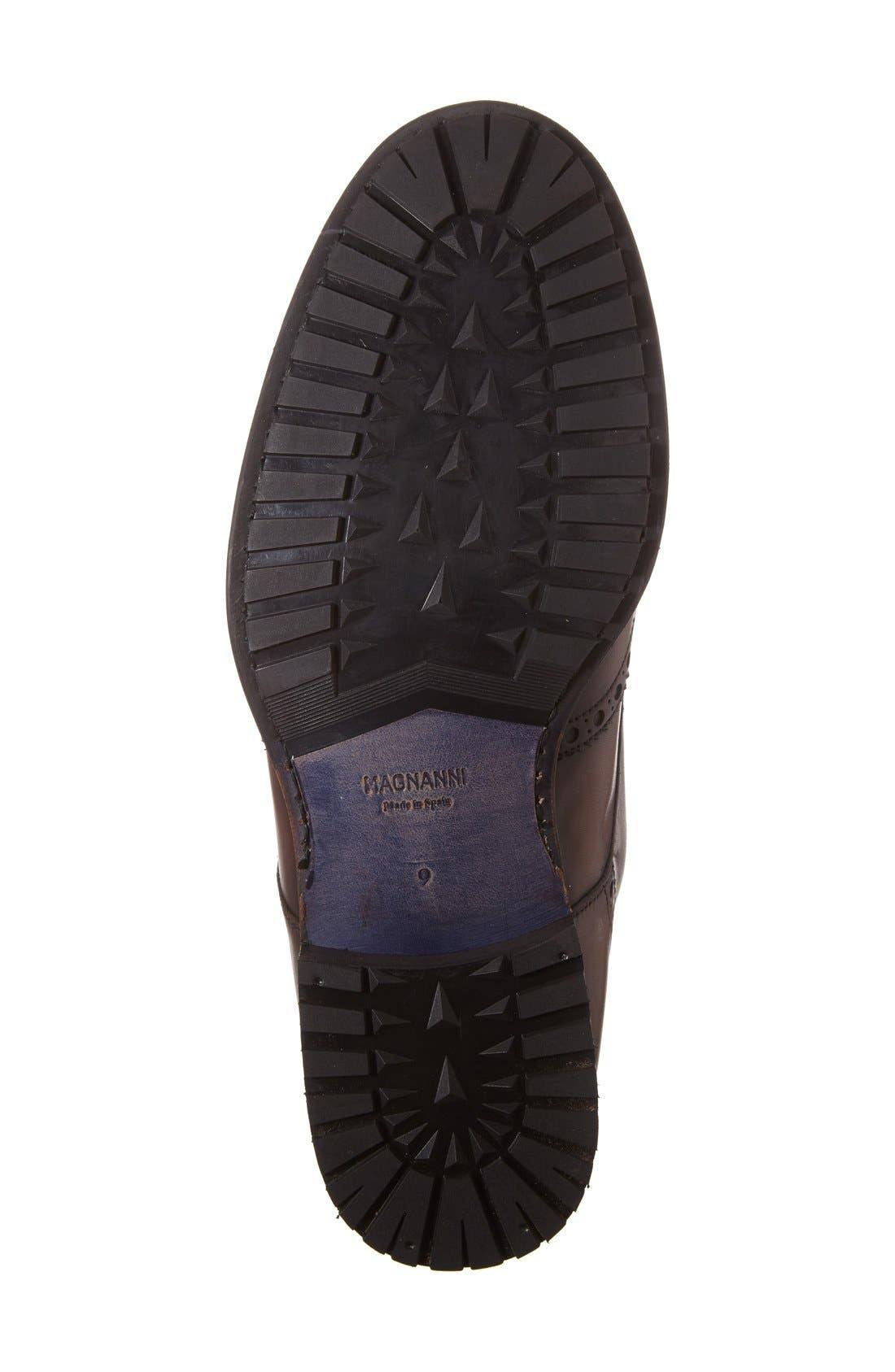Alternate Image 4  - Magnanni Maddox Wingtip Boot (Men)