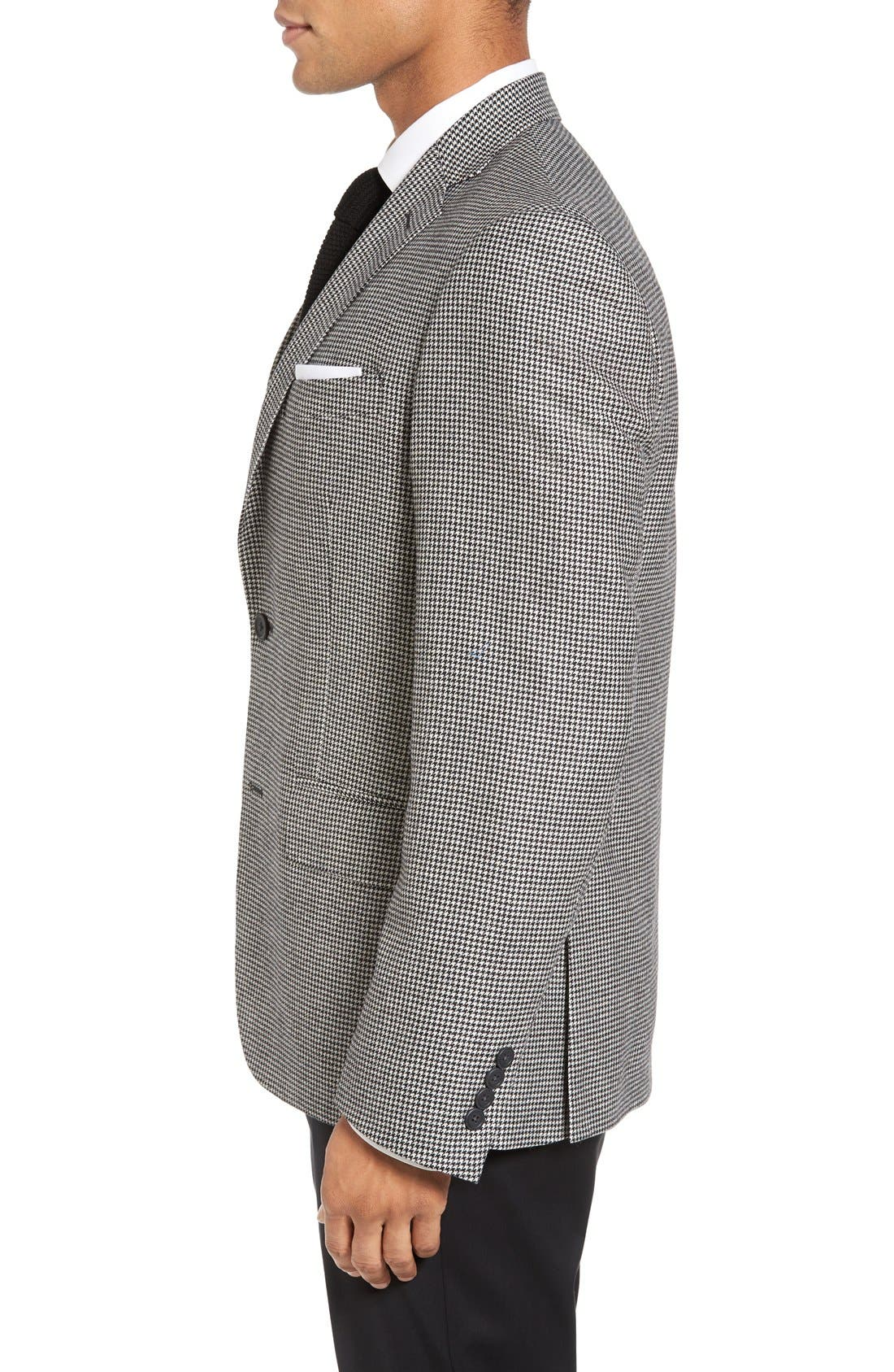 Alternate Image 3  - Nordstrom Men's Shop Classic Fit Houndstooth Wool & Cashmere Sport Coat