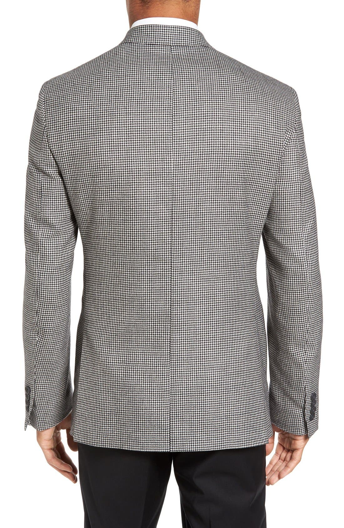 Alternate Image 2  - Nordstrom Men's Shop Classic Fit Houndstooth Wool & Cashmere Sport Coat