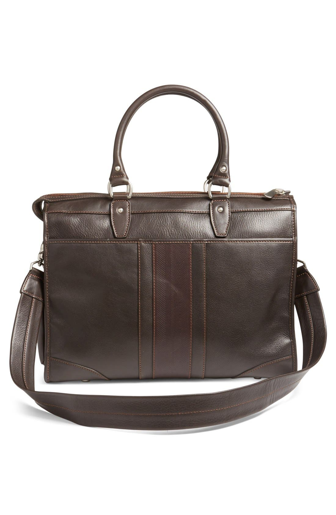 'Rudyard - Martingale' Briefcase,                             Alternate thumbnail 4, color,                             Dark Brown