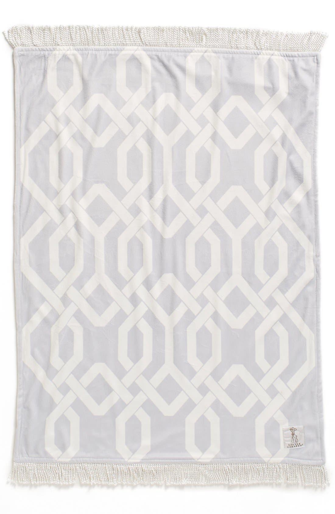 Alternate Image 2  - Little Giraffe Bliss™ Windowpane Blanket
