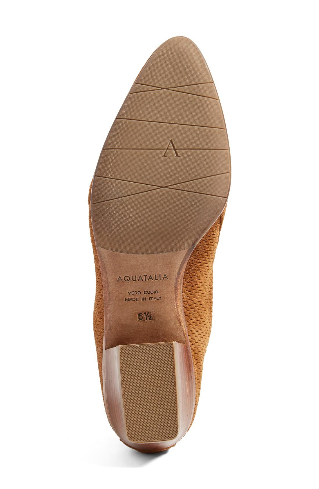 Alternate Image 4  - Aquatalia Fianna Perforated Bootie (Women)