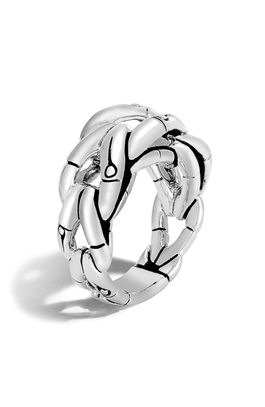 John Hardy Bamboo Woven Ring