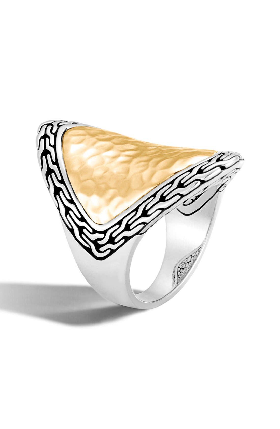 Heritage Marquise Ring,                         Main,                         color, Silver/ Gold