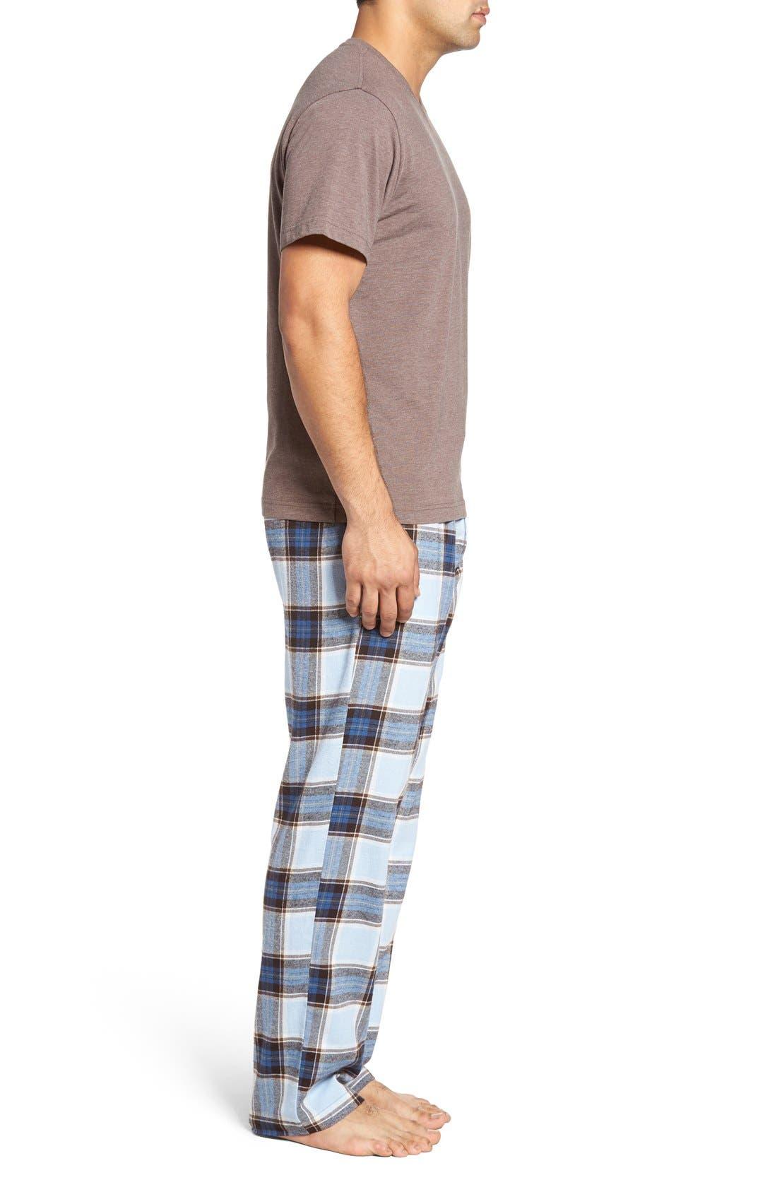 Alternate Image 3  - Majestic International T-Shirt & Lounge Pants