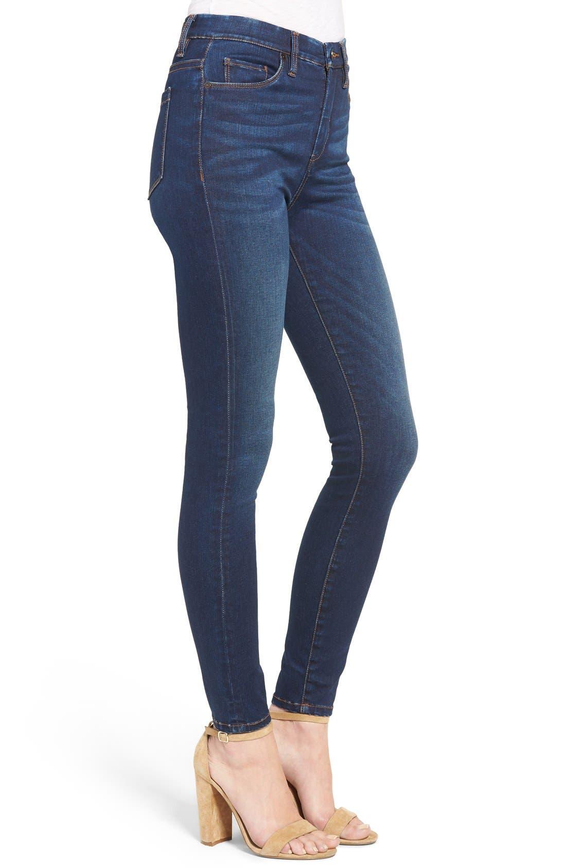 Alternate Image 3  - BLANKNYC Fool Me Twice Skinny Jeans