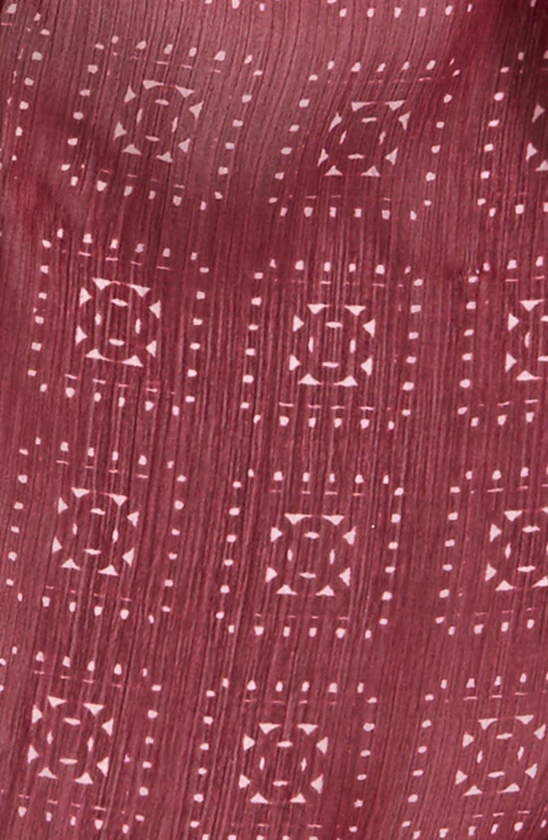 Alternate Image 3  - BCBGeneration Embroidered Skinny Scarf