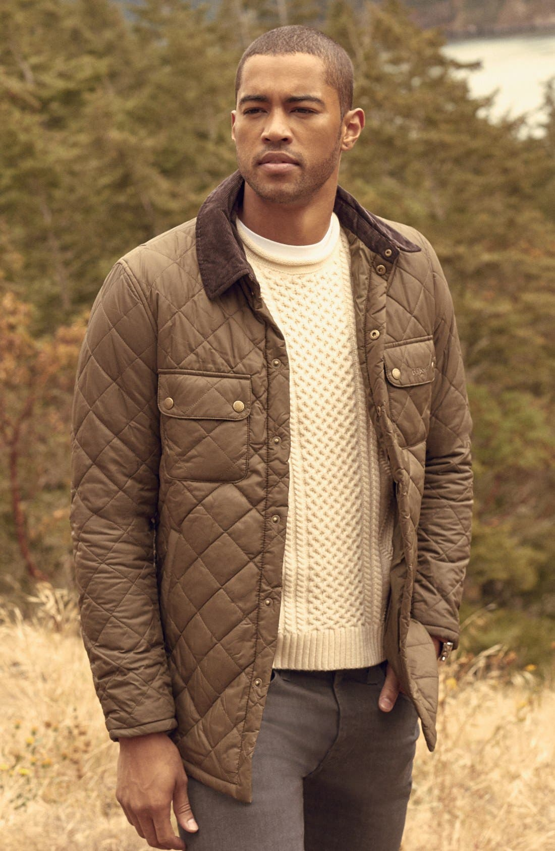 Alternate Image 7  - Barbour 'Akenside' Quilted Jacket