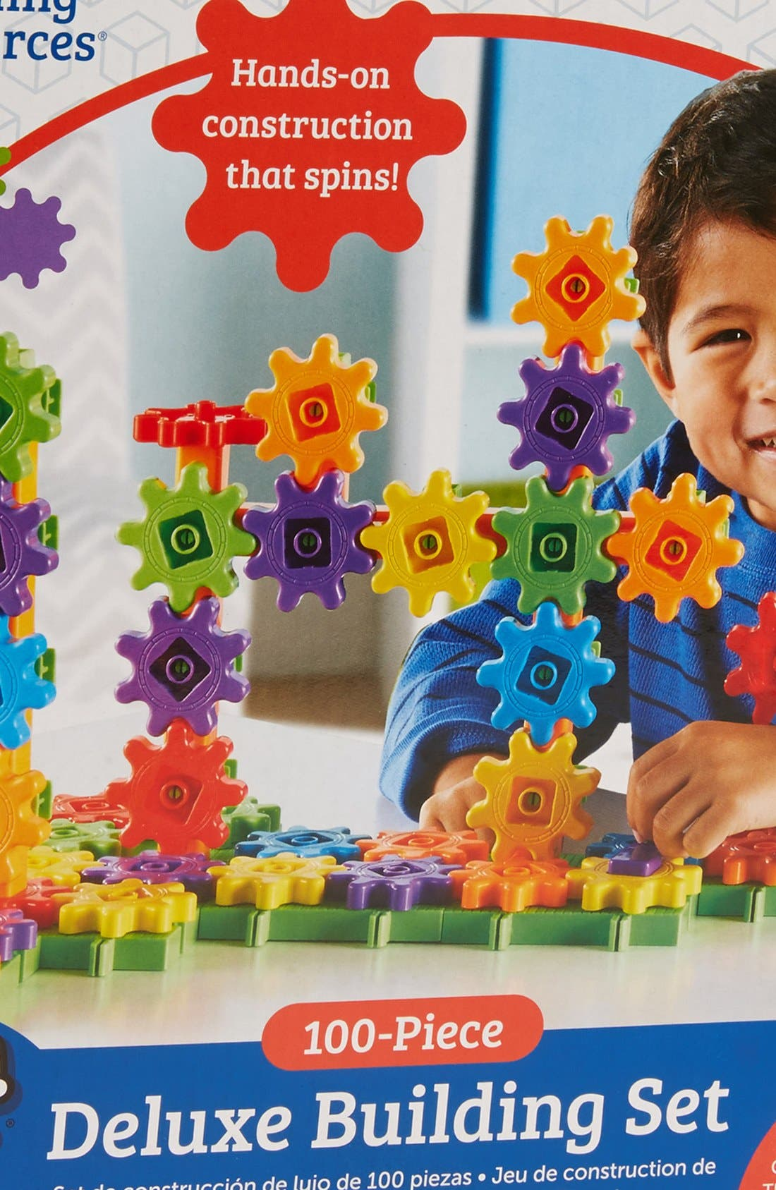 Alternate Image 3  - Learning Resources Gears! Gears! Gears!® Beginner's Building Set