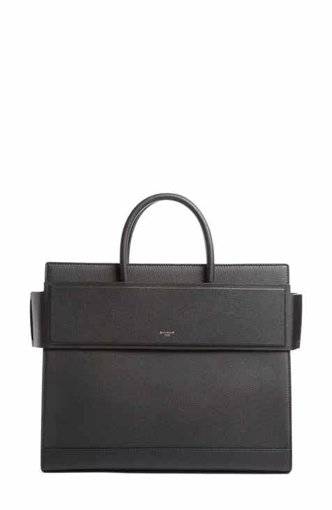 Givenchy Medium Horizon Grained Calfskin Leather Tote