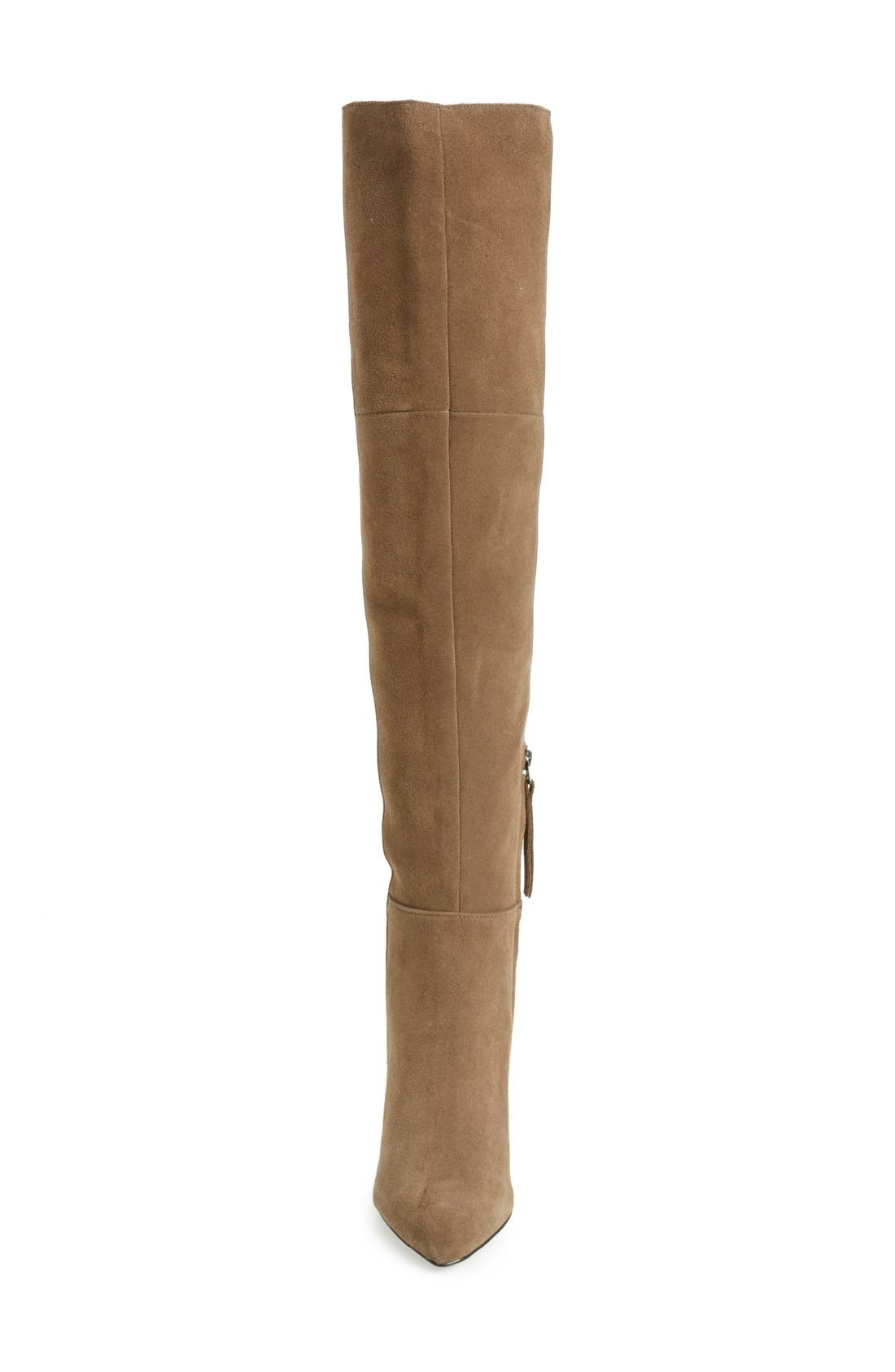 Alternate Image 3  - Topshop Bounty Pointy Toe Over the Knee Boot (Women)