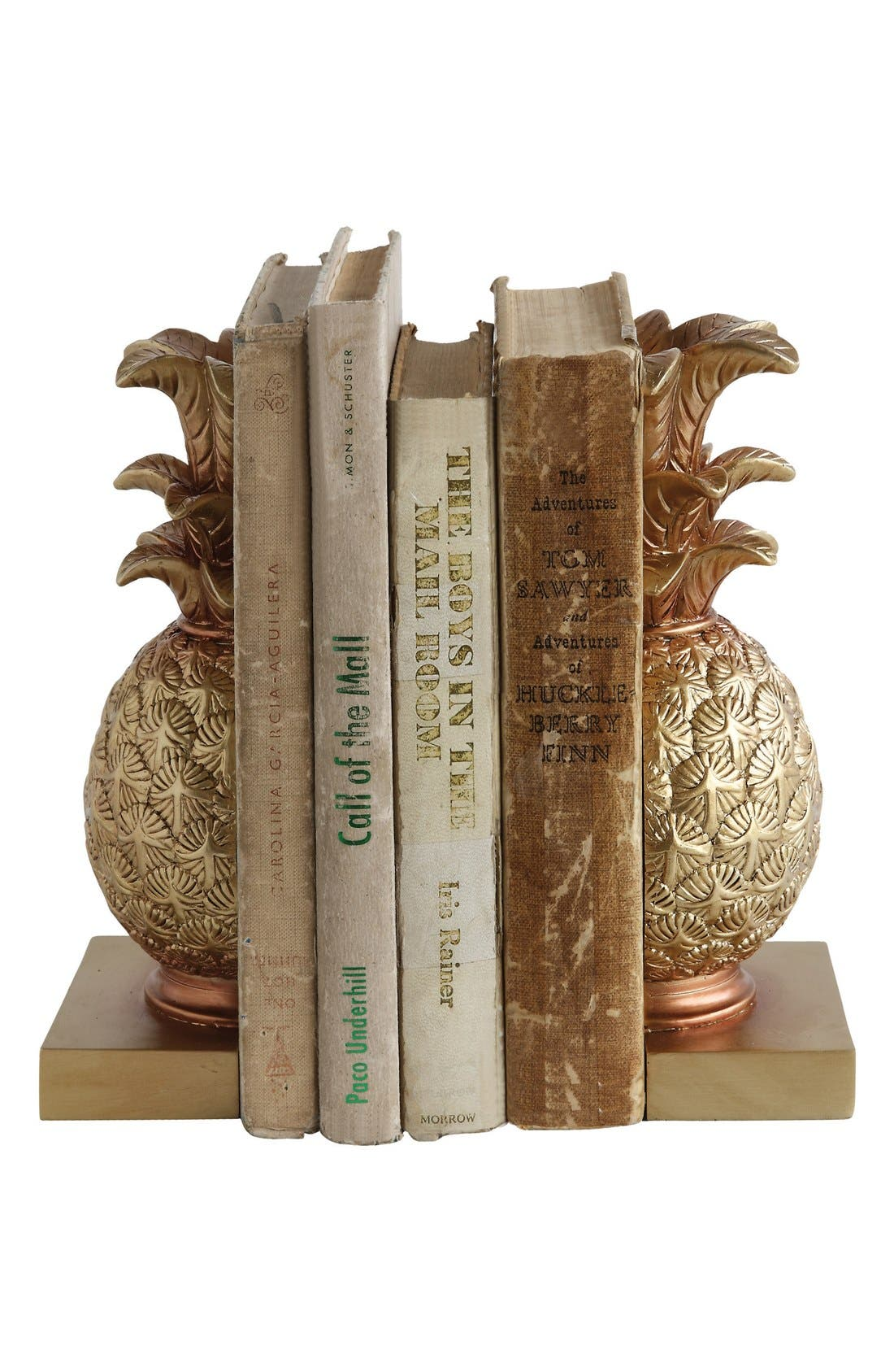 Alternate Image 1 Selected - Creative Co-Op Pineapple Bookends