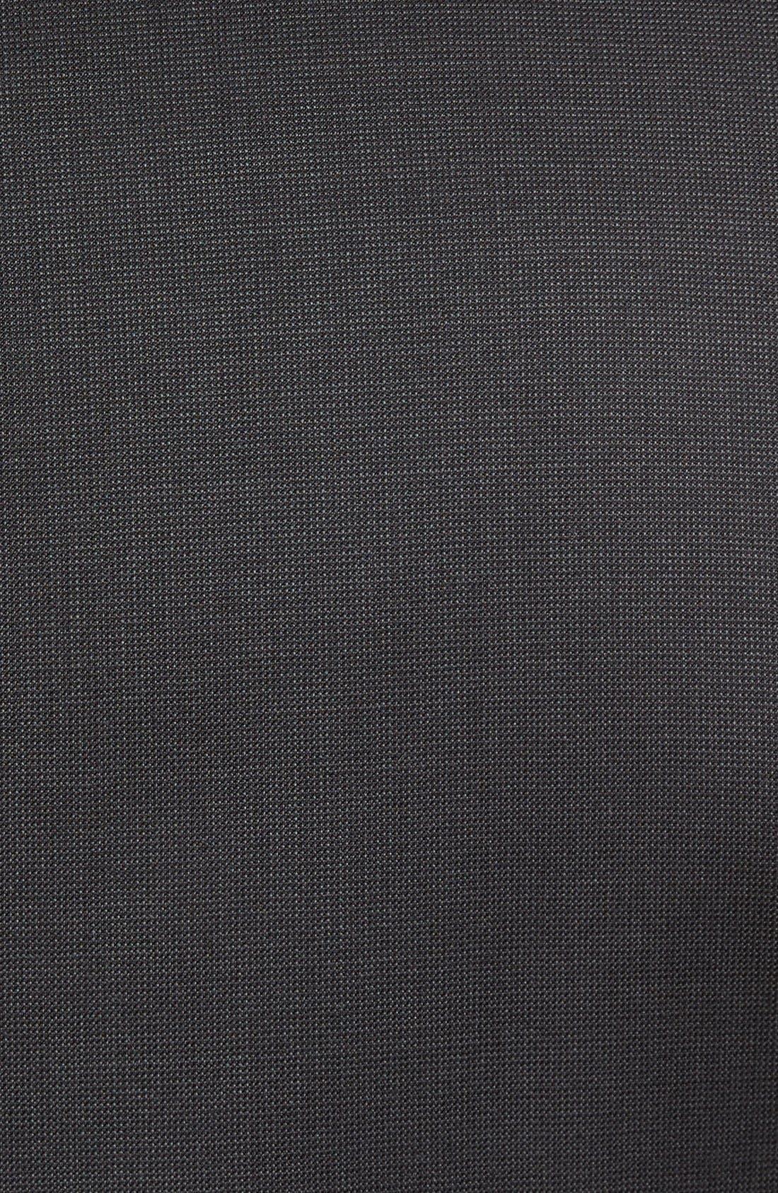 Alternate Image 7  - Nordstrom Men's Shop Classic Fit Solid Wool Suit