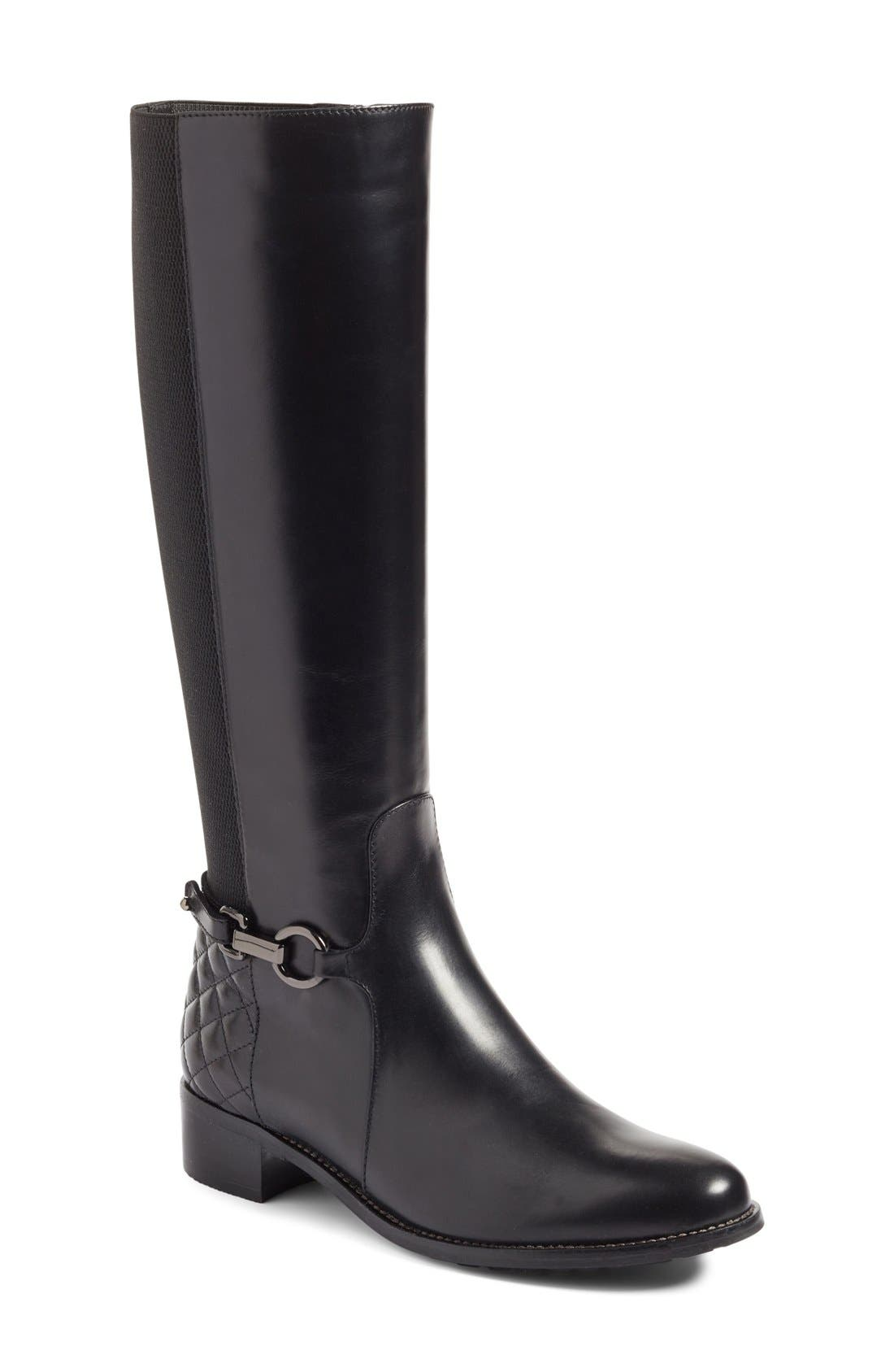 Alternate Image 1 Selected - Aquatalia Oksana Weatherproof Riding Boot (Women)