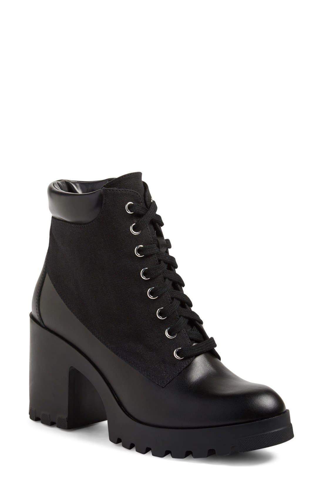 Alternate Image 1 Selected - BP. Madison Lace-Up Boot (Women)