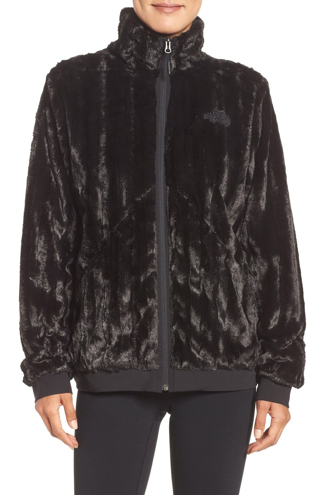 Alternate Image 1 Selected - The North Face Furlander Faux Fur Fleece Jacket