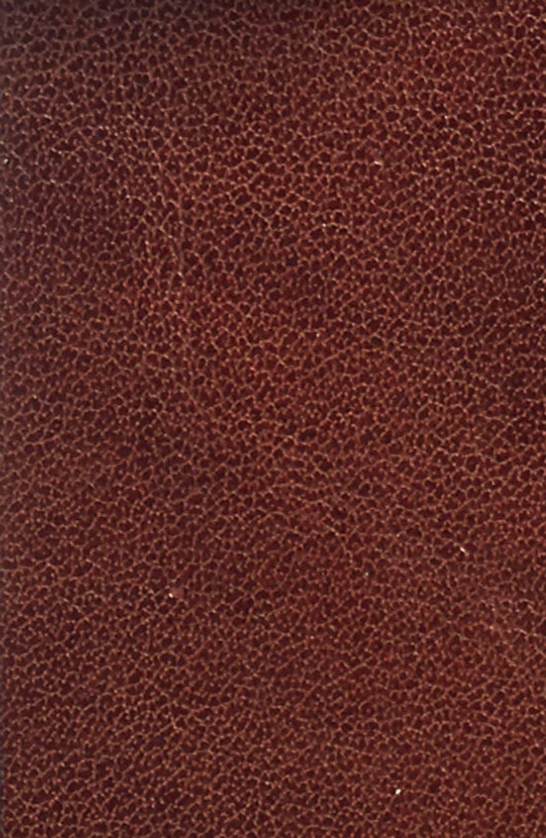 Heavyweight Leather Belt,                             Alternate thumbnail 2, color,                             Dark Brown