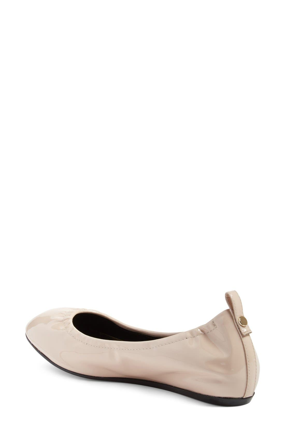 Alternate Image 2  - Lanvin Smooth Leather Ballet Flat (Women)