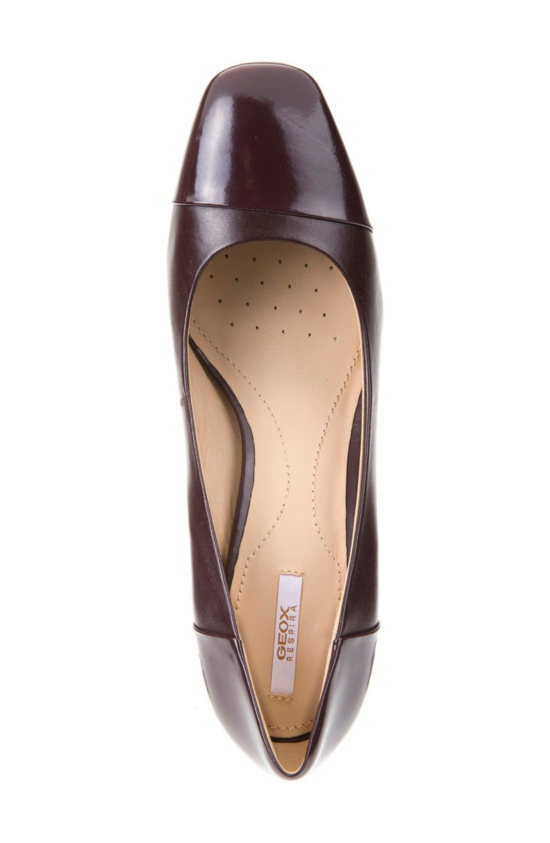 Alternate Image 3  - Geox New Symphony Cap Toe Pump (Women)