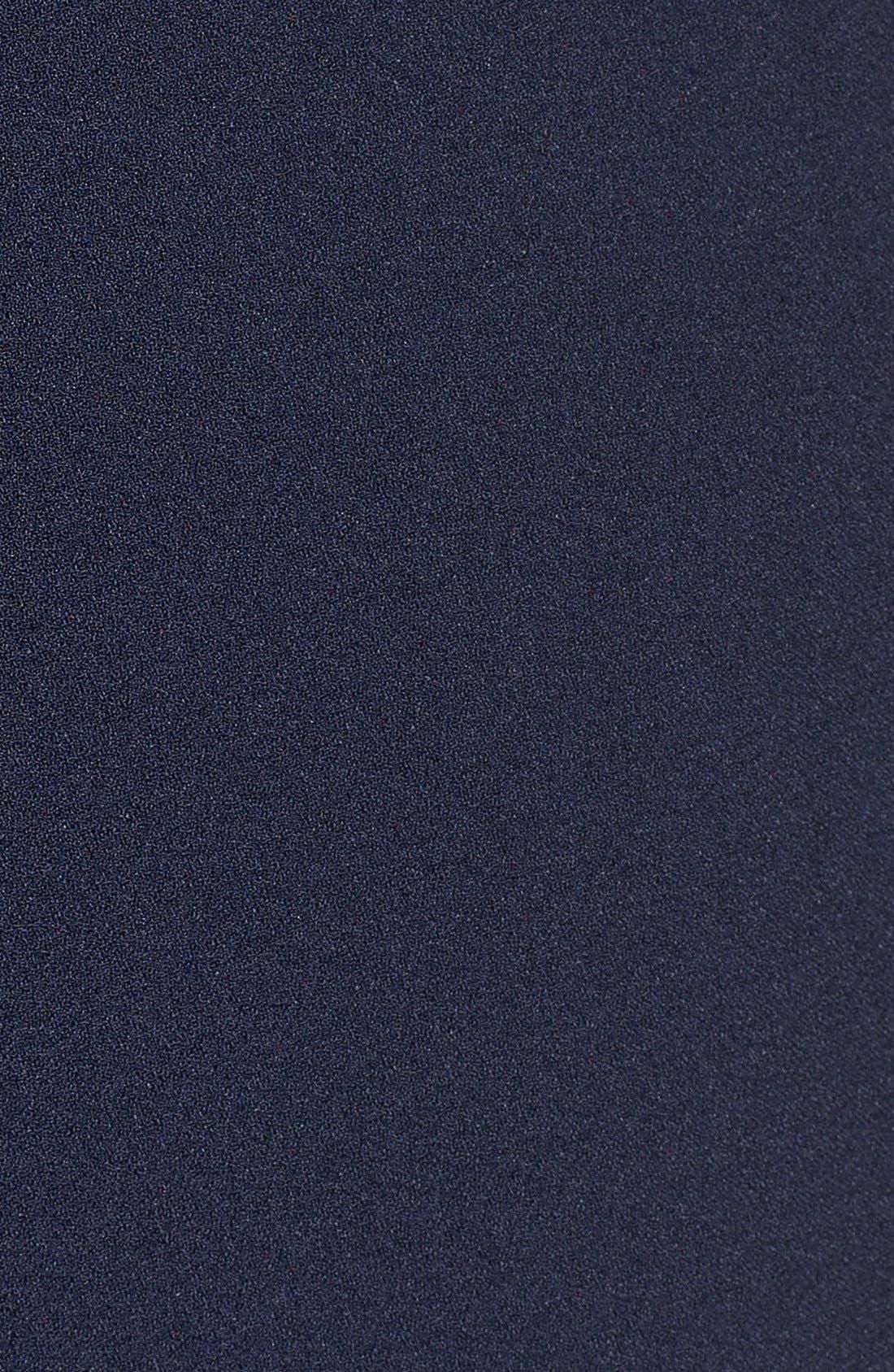 Alternate Image 6  - Vince Camuto Tie Waist Sleeveless Crepe Jumpsuit (Plus Size)
