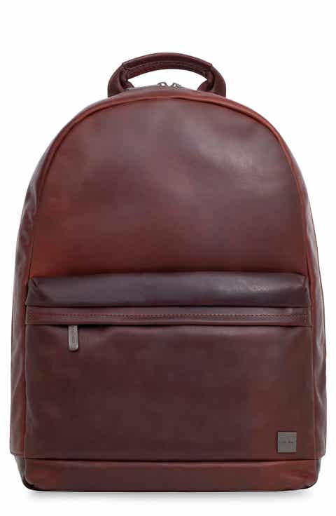 KNOMO London Barbican Albion Leather Backpack
