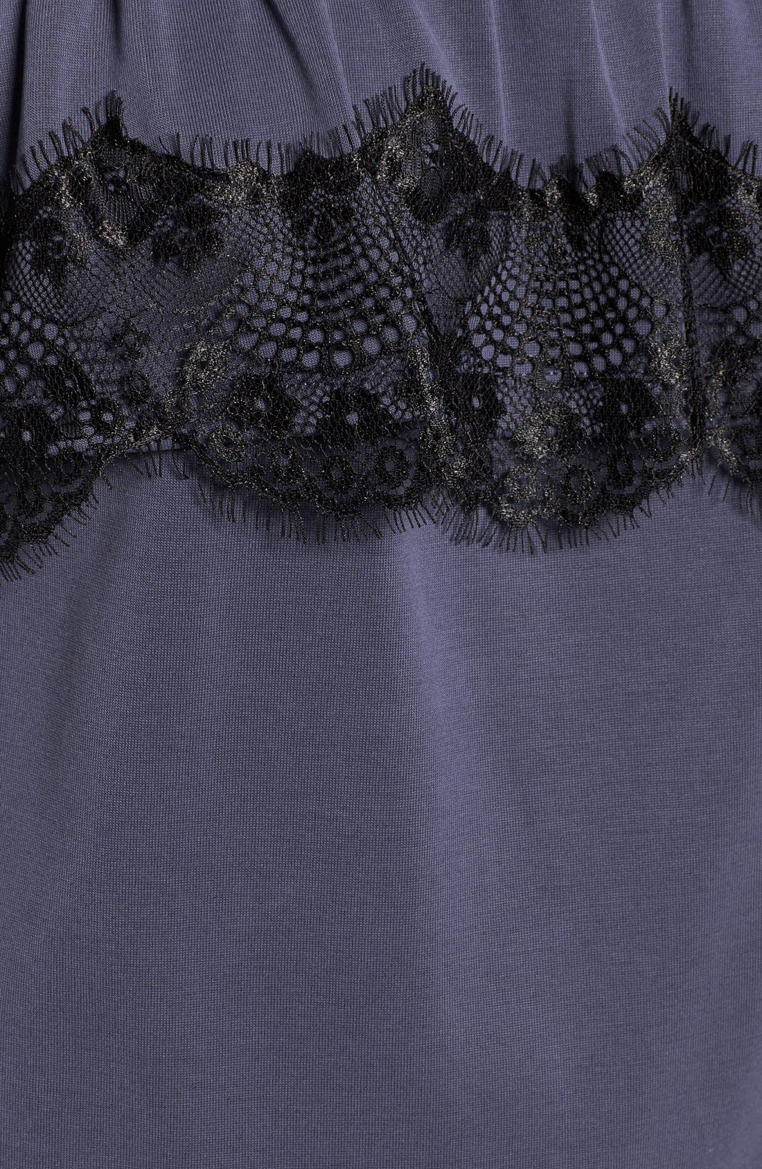 Alternate Image 5  - Ella Moss 'Isabella' Lace Trim Off the Shoulder Top