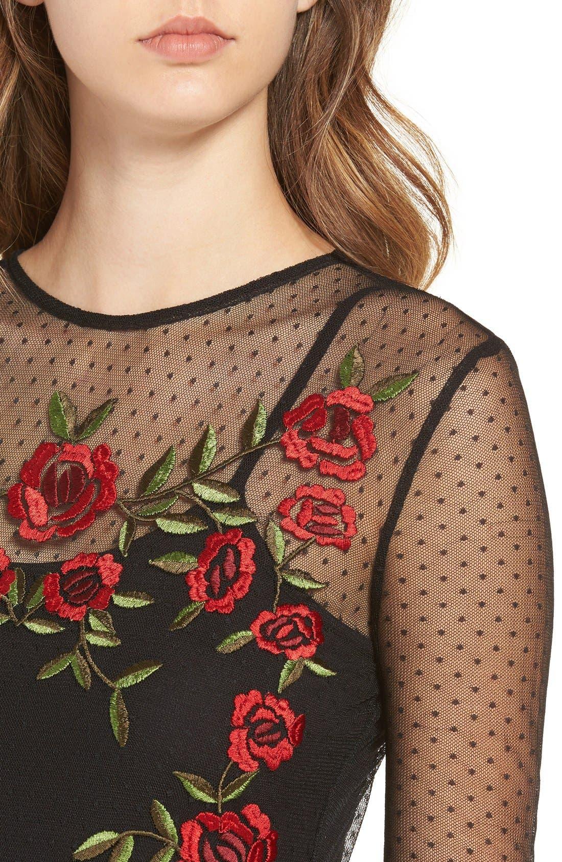 Alternate Image 5  - Lovers + Friends Morella Body-Con Dress