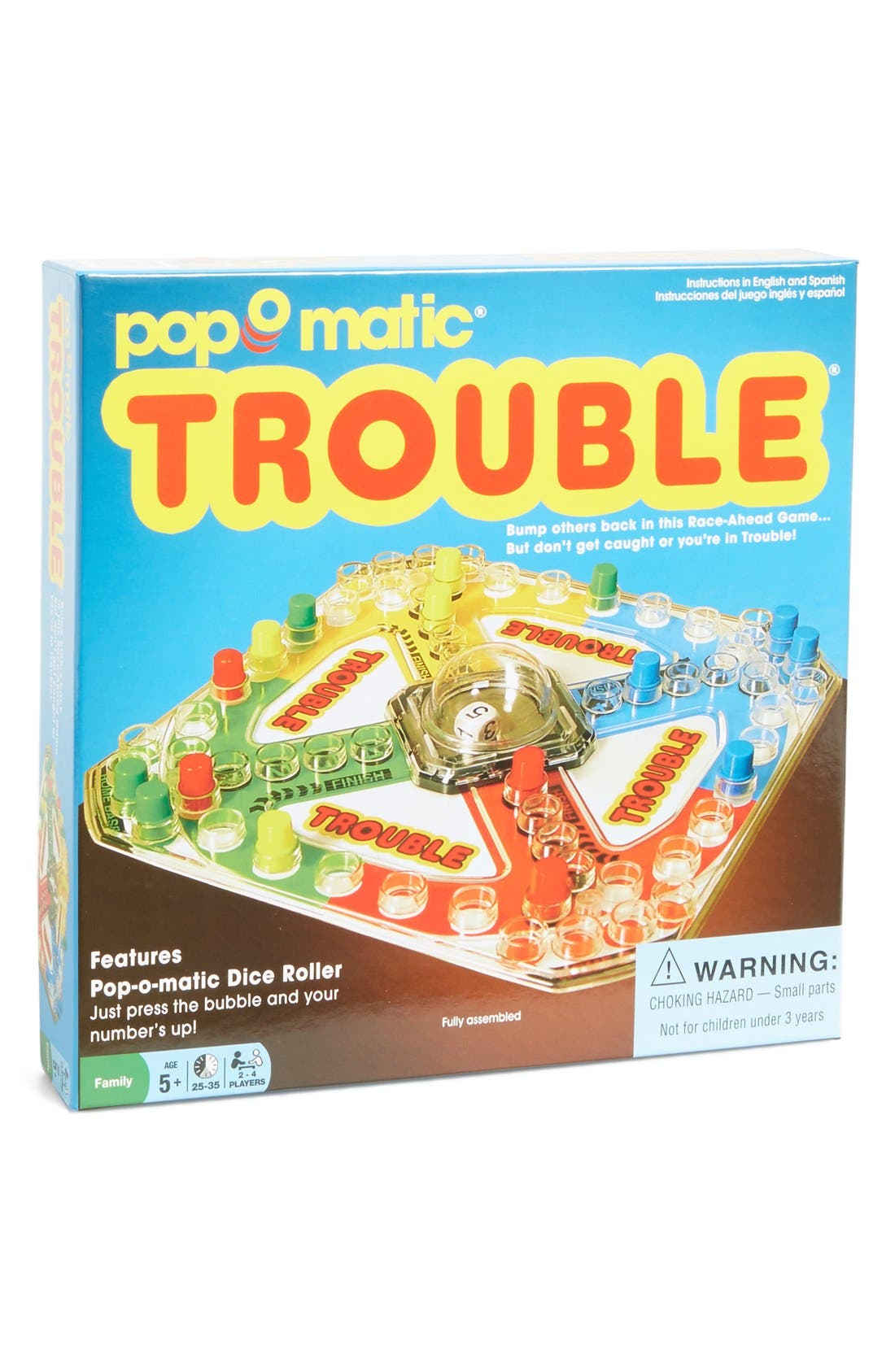 Winning Moves Classic Trouble Board Game