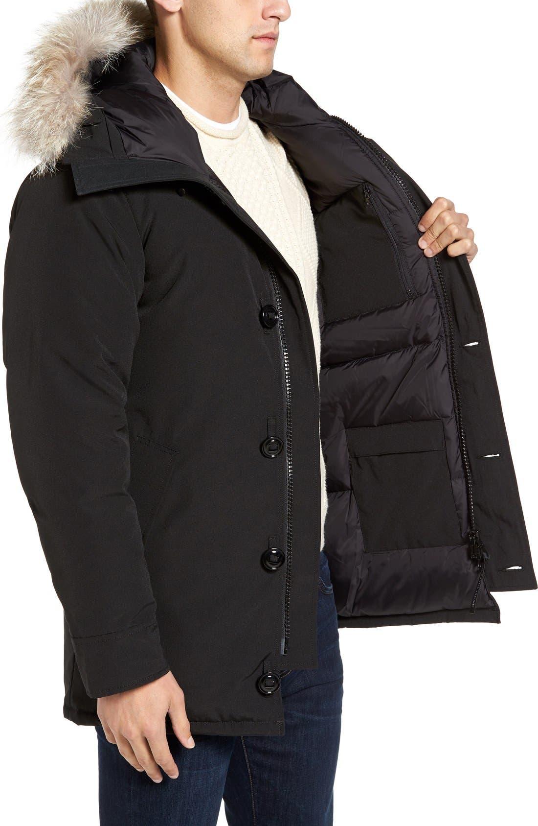 Alternate Image 3  - Canada Goose 'Chateau' Slim Fit Genuine Coyote Fur Trim Jacket