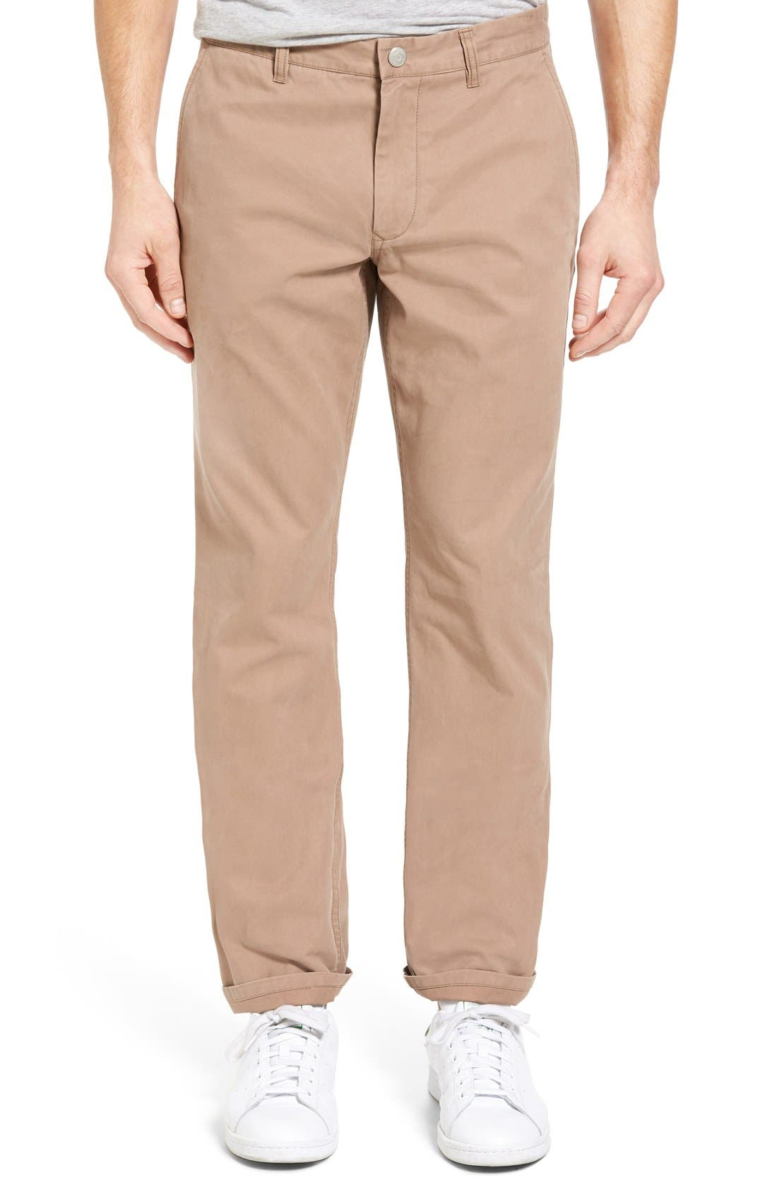 Bonobos Straight Fit Washed Chinos