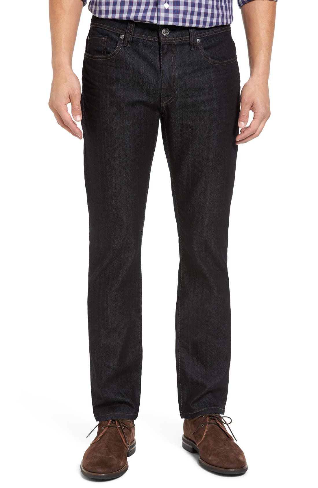 Fidelity Denim Jimmy Slim Straight Leg Jeans (Revolution Rinse)