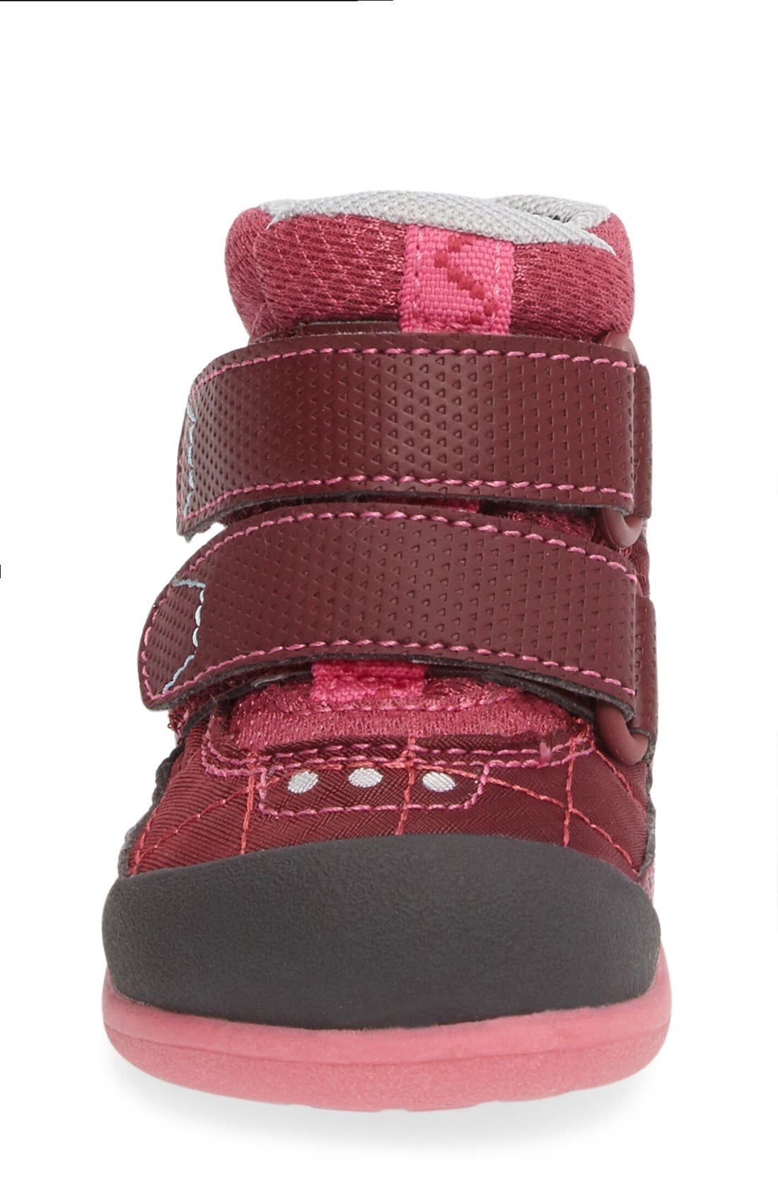 Atlas Waterproof Boot,                             Alternate thumbnail 3, color,                             Burgundy/ Berry