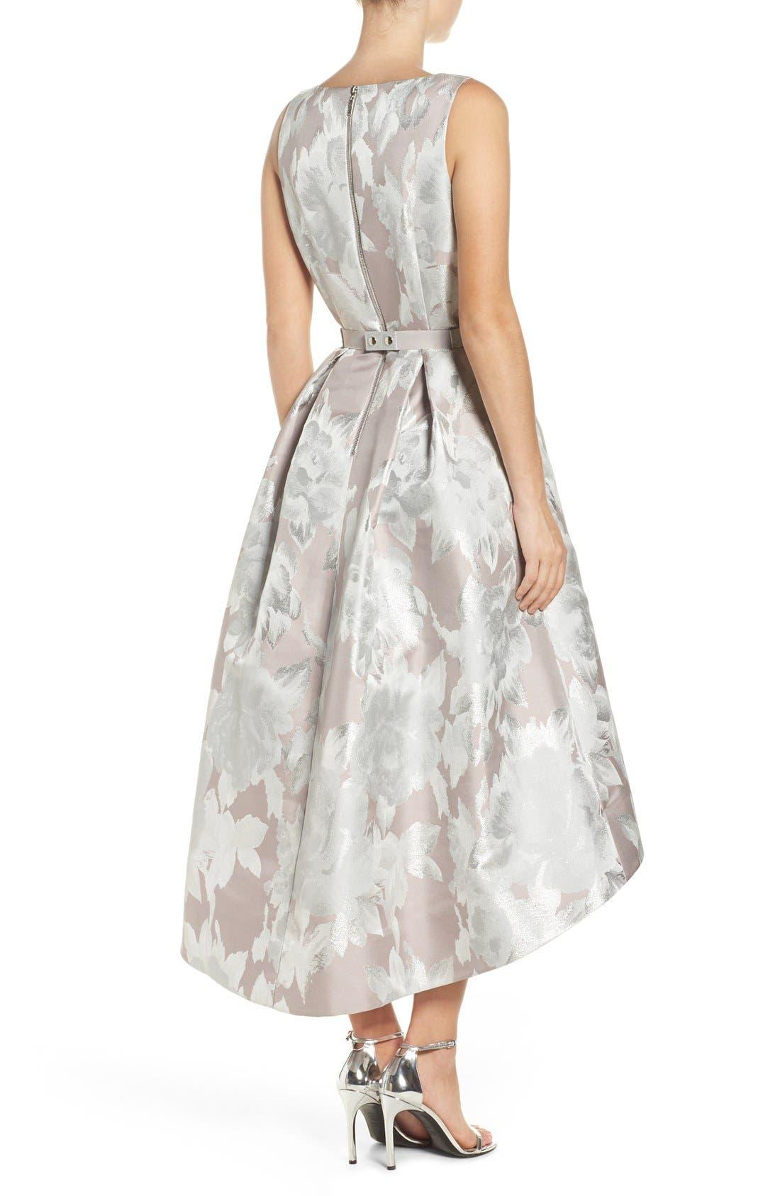 Alternate Image 2  - Eliza J Sleeveless High/Low Dress
