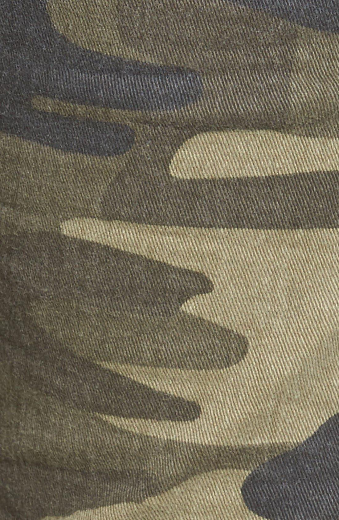 Alternate Image 5  - Mavi Jeans Juliette Camo Print Military Cargo Pants
