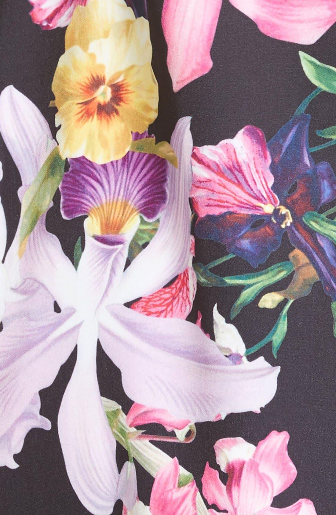 Alternate Image 5  - Ted Baker London Lost Garden Fit & Flare Dress
