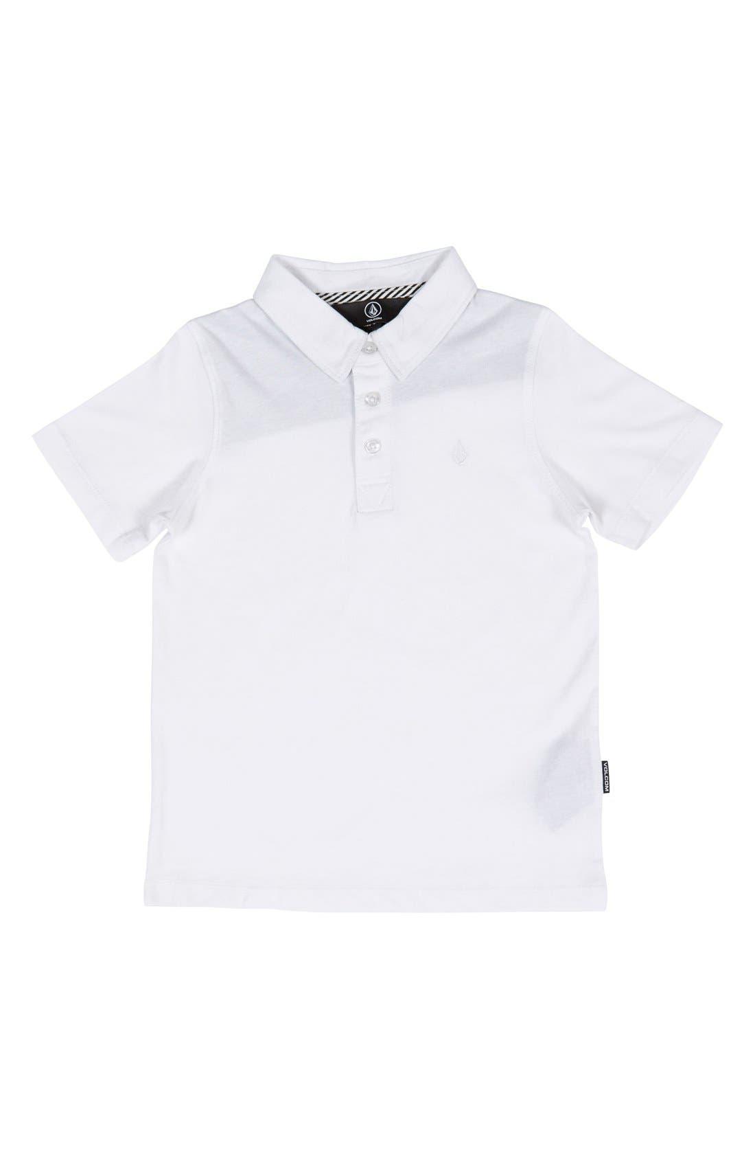Wowzer Polo,                             Main thumbnail 1, color,                             White