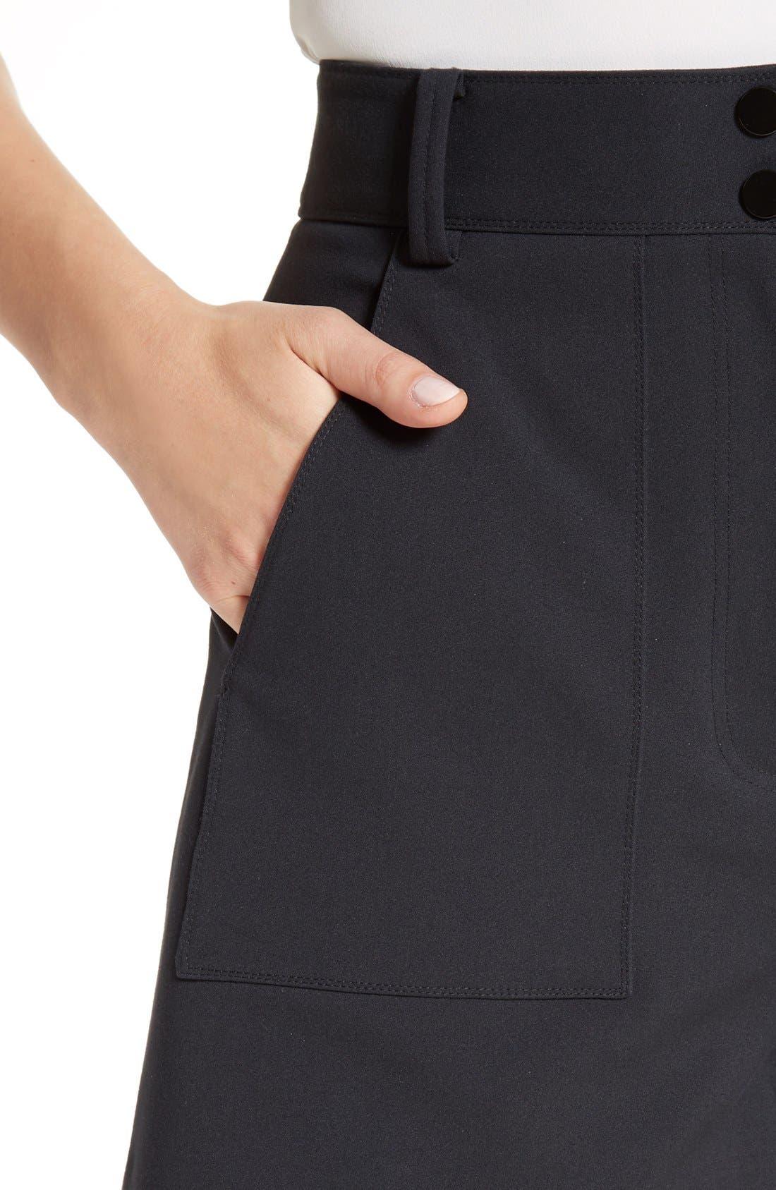 Alternate Image 5  - Tibi Urban Stretch Shorts