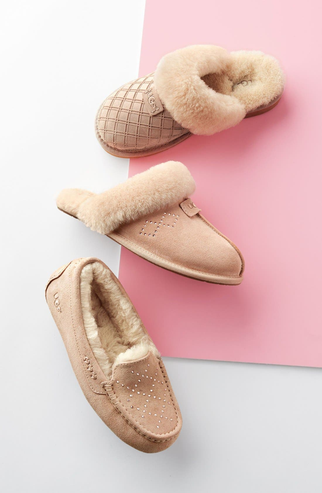 Alternate Image 5  - UGG® Cozy Genuine Shearling Slipper (Women)