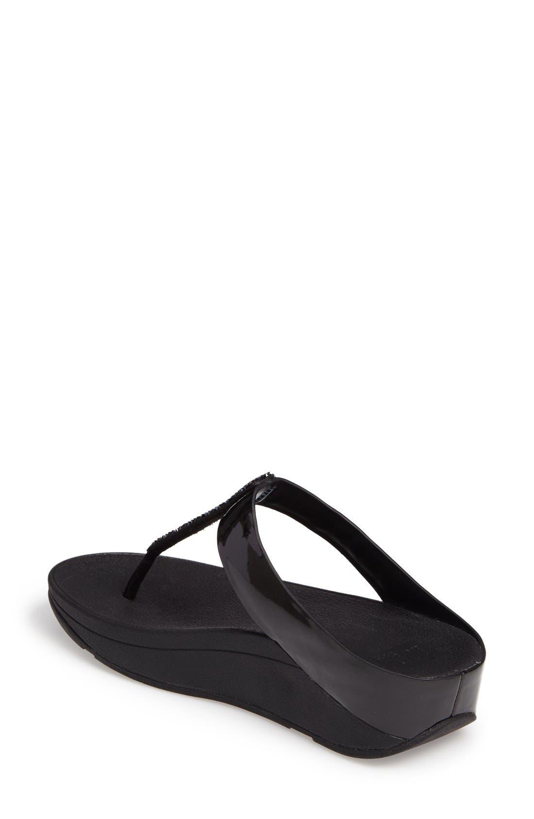 Alternate Image 2  - FitFlop™ Fino Flip Flop Sandal (Women)