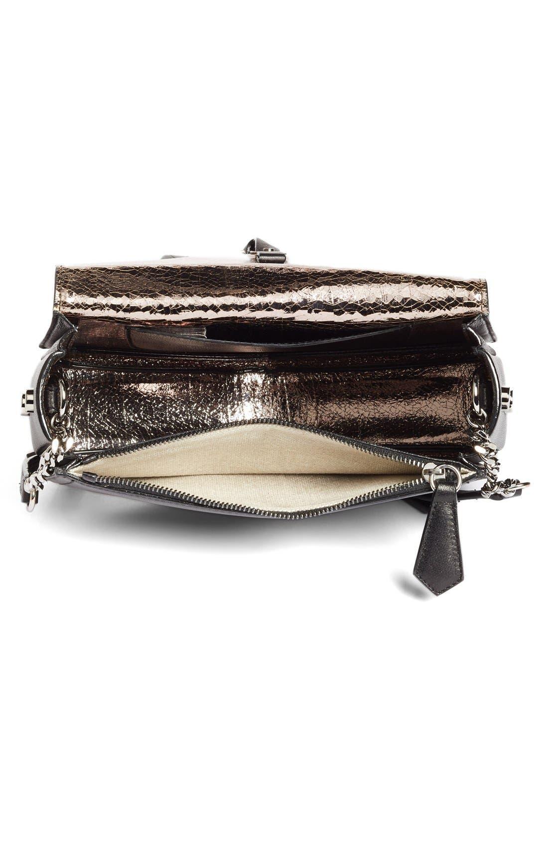 Alternate Image 4  - Jimmy Choo Arrow Leather Shoulder Bag