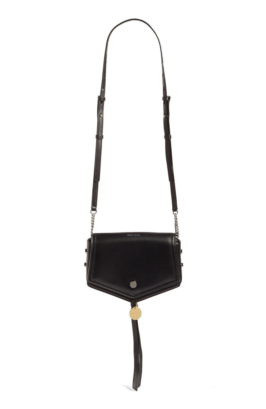 Alternate Image 1 Selected - Jimmy Choo Arrow Leather Shoulder Bag
