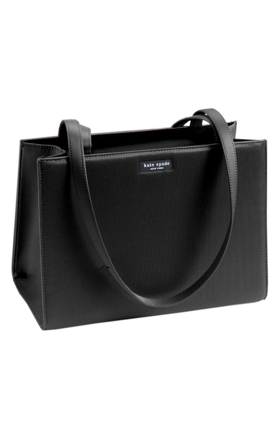 kate spade 'sam' handbag,                         Main,                         color, Black