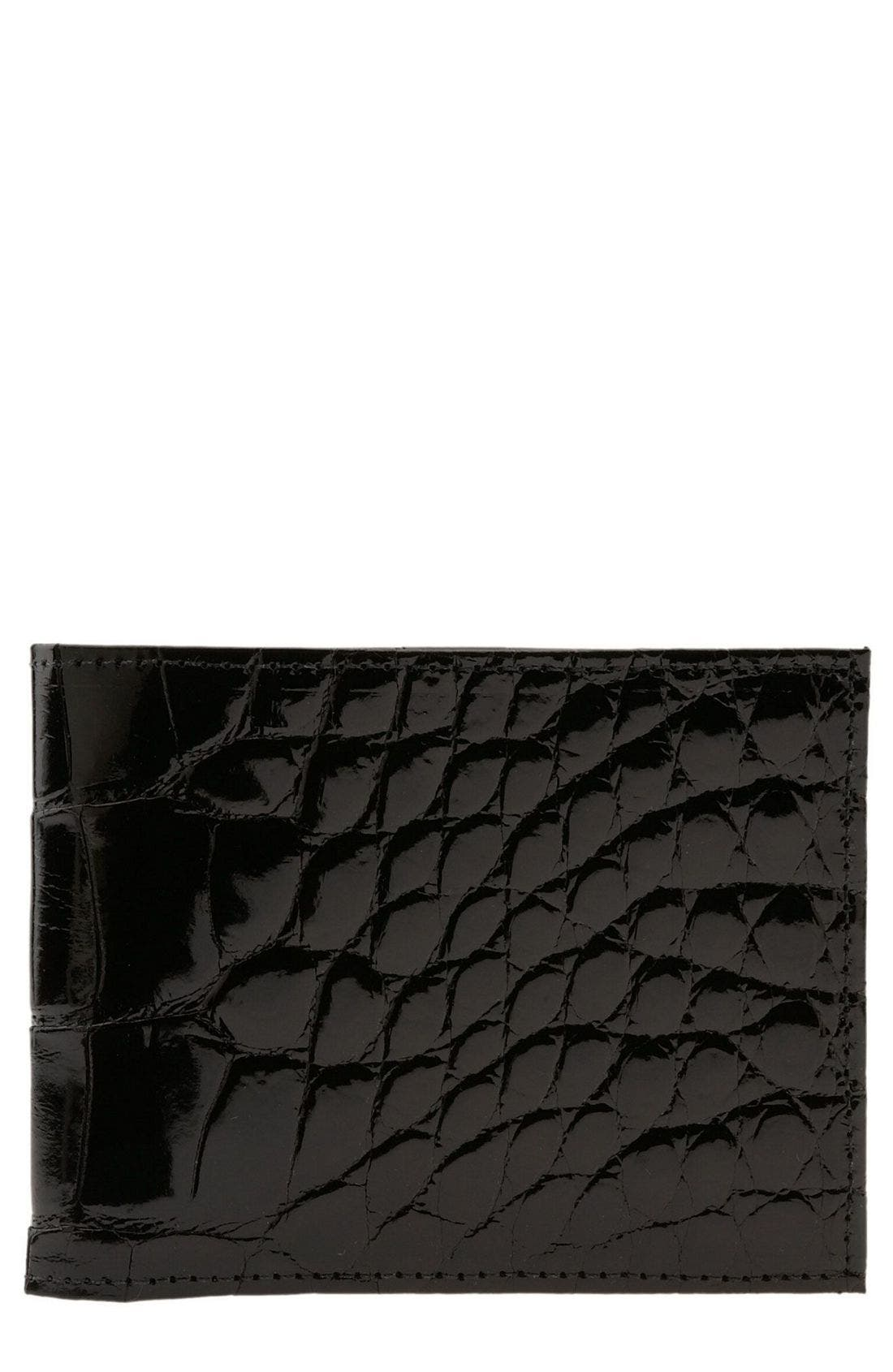 Alternate Image 1 Selected - Martin Dingman Genuine American Alligator Billfold