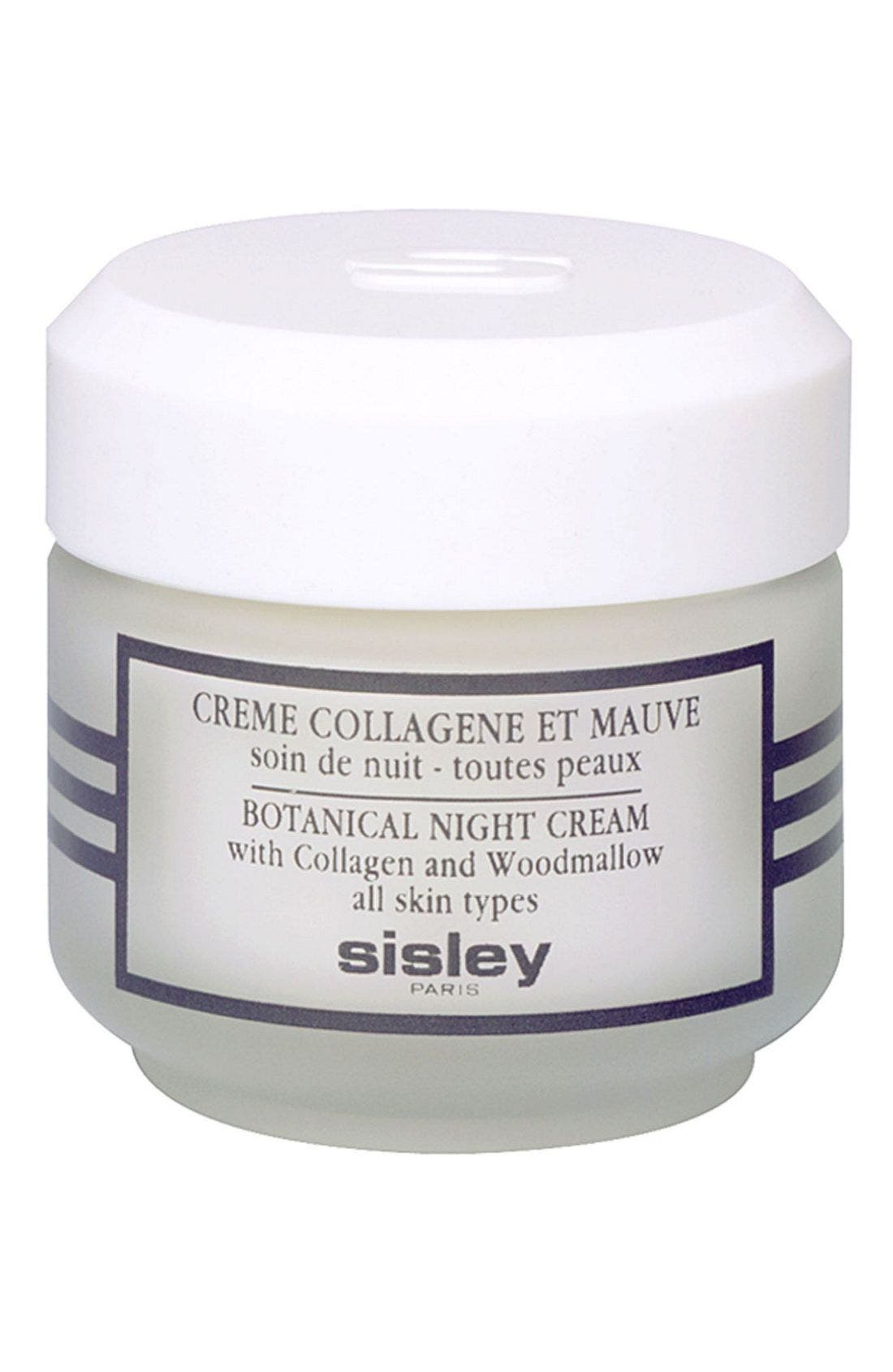 Sisley Cosmetics Botanical Night Cream With Collagen and Woodmallow