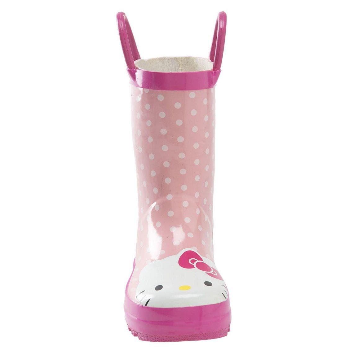 Alternate Image 3  - Western Chief 'Hello Kitty®' Rain Boot (Walker, Toddler, Little Kid & Big Kid)